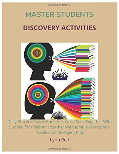 Master Students Discovery Activities: Daily Practice Puzzle Book Has Word Seek Together With Sudoku ...