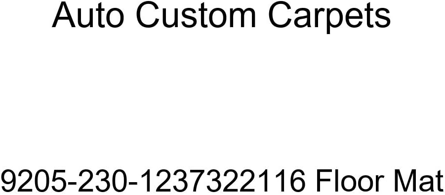 Auto Custom Carpets Ranking TOP7 Mat Spring new work 9205-230-1237322116 Floor