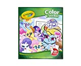 Crayola My Little Pony Coloring Pages and Stickers, Gift for Kids, Ages 3, 4, 5, 6