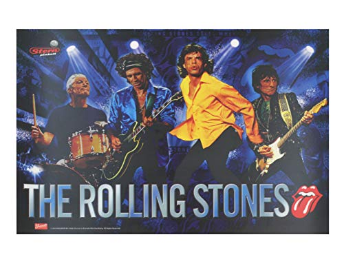 Stern Pinball Flipper The Rolling Stones Translite #830-52B8-00