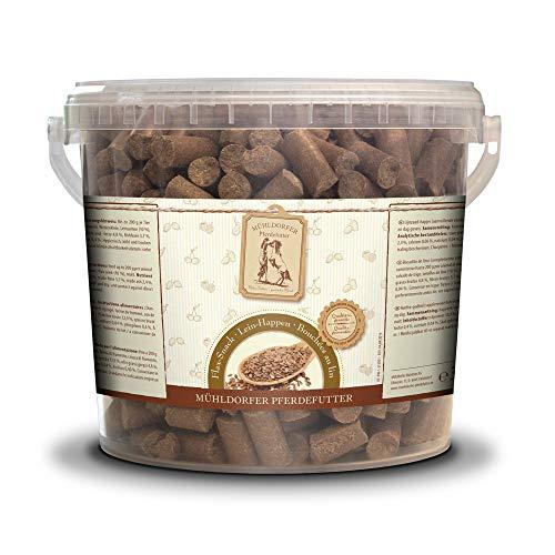 Mühldorfer - Comida de Lino, 3 kg, golosinas para Caballos