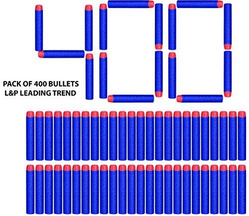 Charmed Nerf N Strike Blaster Compatible Dart Bullets (400)
