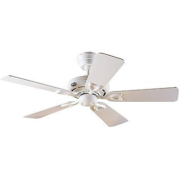 HUNTER ventilador de techo SEVILLE - Blanco - 112cm diámetro ...