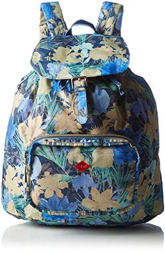 Oilily Damen FF Folding Classic Backpack Rucksackhandtaschen, Blau (Blueberry 546), 33x41x16 cm