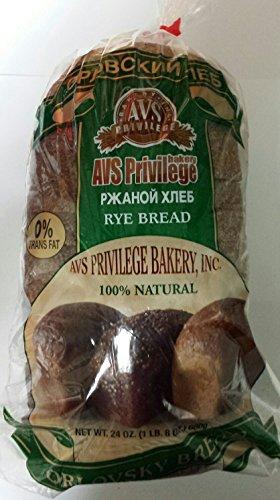 Russian Orlovsky Rye Bread Pack of 2