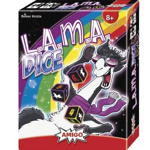 AMIGO Spiel + Freizeit- Lama Dice Juego Familiar. (2103)