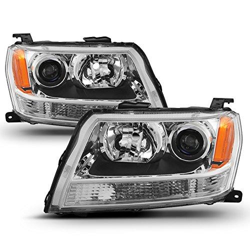 ACANII - For 2006 2007 2008 Suzuki Grand Vitara Headlights Headlamps Aftermarket Driver + Passenger Side
