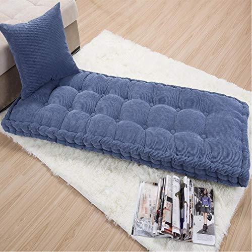 generio Long Cushion Thickening Garden Chair Cushion Solid Color Home Seat Mat Floor Cushion 55X150/55X165Cm Bench Cushion Customizable