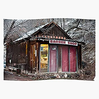 Colordao Trim Cowboy Basalt Haircuts Barbershop - The Best and Newest Poster for Wall Art Home Decor Room I - Customize