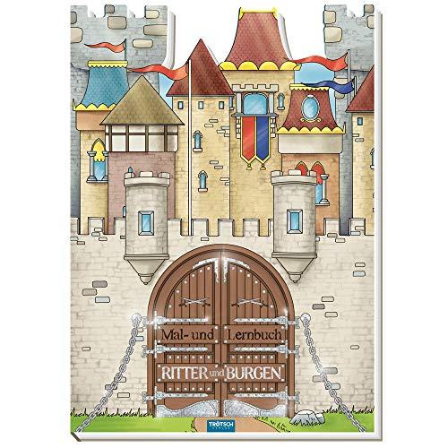 Trötsch Malbuch Ritter und Burgen Malbuch: Lernbuch Malbuch Ausmalbuch