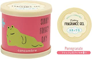 concombre 芳香剤 まったりフレグランスジェル 置き型 消臭成分配合 ざくろの香り OA-DKF-1-3
