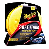 Meguiars ME X3070 Soft Foam Applicator Pads Tampon Applicateur Mousse