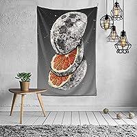 タペストリー 壁掛け Lunar-Fruit おしゃれ 布ポスター インテリア ウォールアート 窓カーテン 壁掛け布 多機能壁掛け 模様替え 部屋 個性ギフト 150x100cm