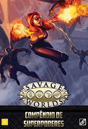 Compêndio de Superpoderes - Coleção Savage Worlds