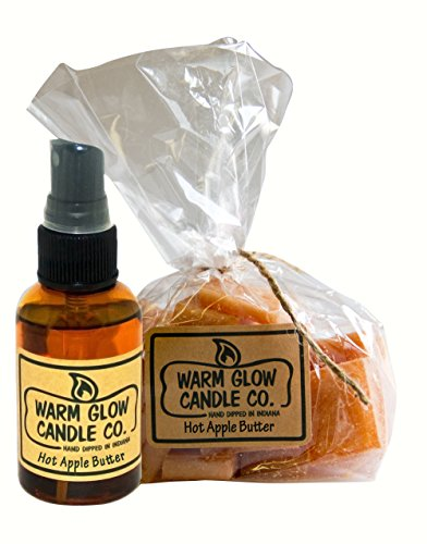 Warm Glow Candle Company Apple Cinnamon Scent Chips 2 Pack