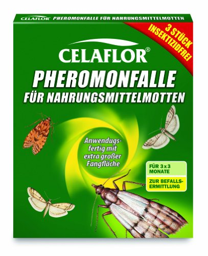 Celaflor 1396 - Lote de 3 trampas de feromonas antipolillas