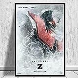 Yiwuyishi Mazinger Z Infinity Poster Película Japonesa Anime Manga Niños Regalo y Tarjeta Pintura Arte Cuadros de Pared para Sala de Estar 50x70cm P-256