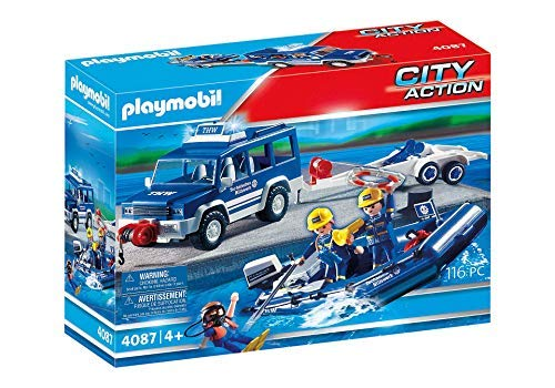 PLAYMOBIL® - 4087 - THW Boot-Transport