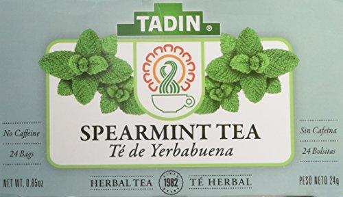 Tadin Spearmint Tea 24 Bags - Te De Yerbabuena
