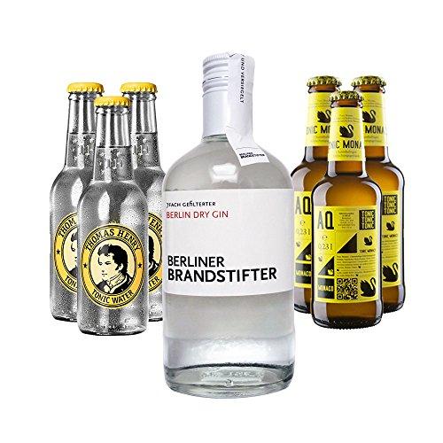 Berliner Brandstifter Gin & Thomas Henry + Aqua Monaco Set