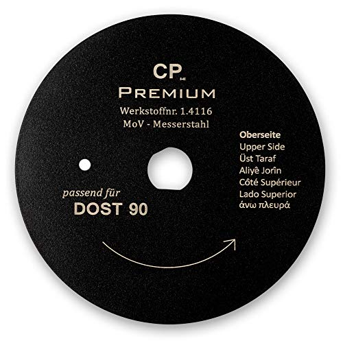 Für Dost 90mm Kreismesser mit Teflonbeschichtung Glatt Dönermesser Kebapblade