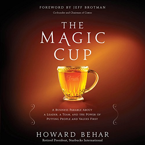 The Magic Cup audiobook cover art