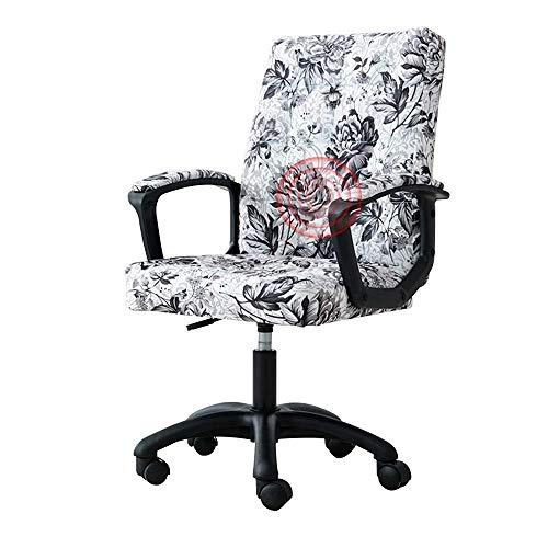 Tägliche Ausrüstung Stuhl Drehstuhl Computerstuhl Ergonomie Komfortable Bewegungsmangel mit Massagefunktion Erhöhender drehbarer Kunstledersitz Haushalt Lazy Lounge Chair Nennlastkapazität: 550 lbs