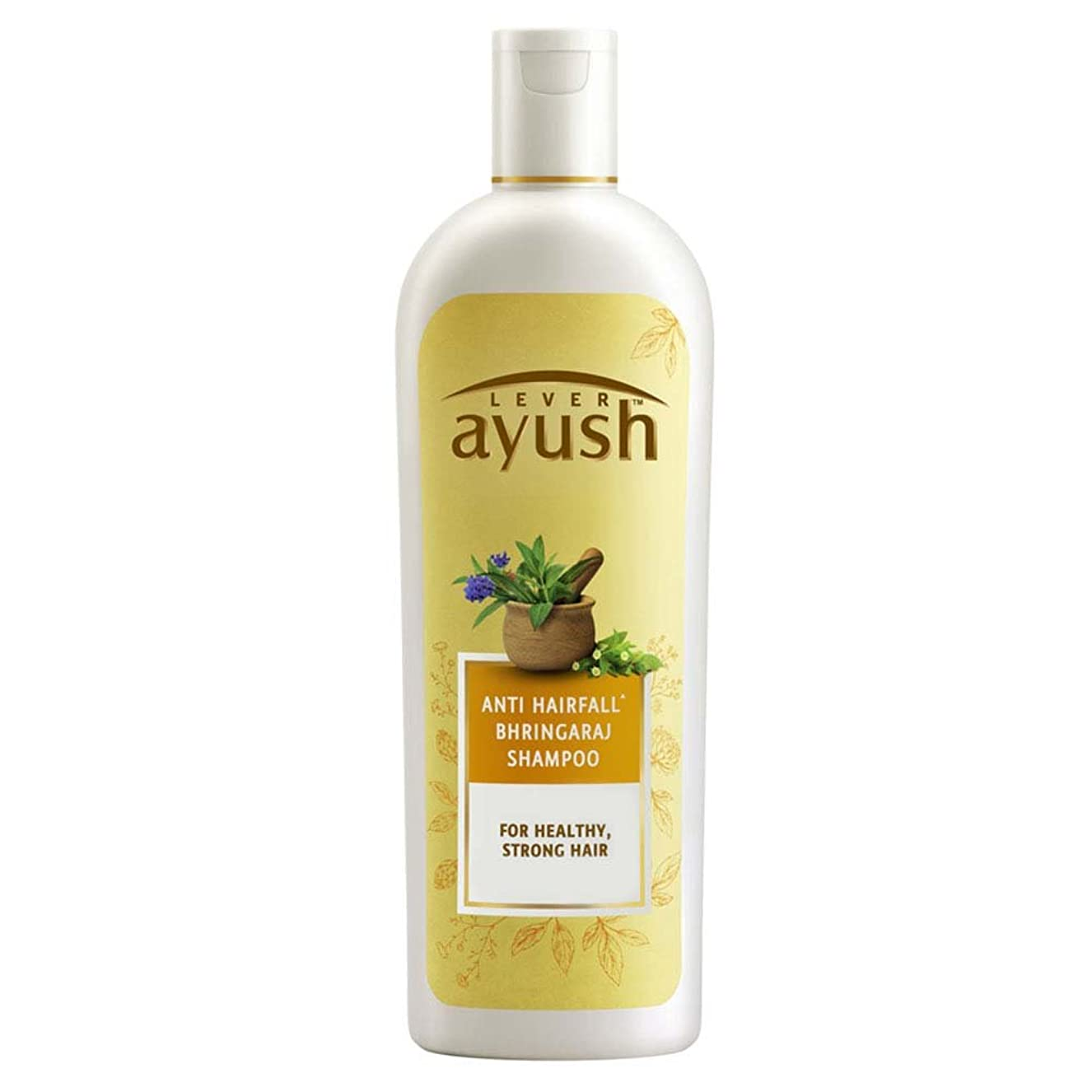 コミットセクタコメンテーターLever Ayush Anti Hairfall Bhringaraj Shampoo, 330ml