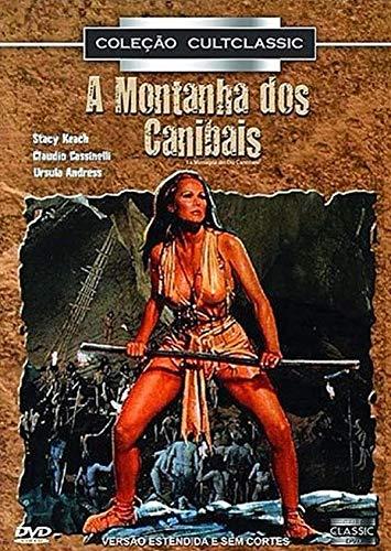 Dvd - A Montanha Dos Canibais - Ursula Andress