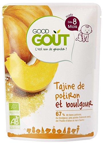 Good Goût Bio Tajine de Potiron et Boulgour dès 8 Mois 190 g