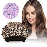 Bonnet Chauffant pour Soins Capillaires 2020 Neuf PRETTY SEE avec 100% Naturel aux Graines de Lin pour Tous Types et Textures de Cheveux,Hydrate les cheveux