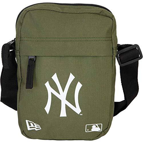 New Era New York Yankees Side Mini Bag Umhängetasche Tasche (one Size, Olive)