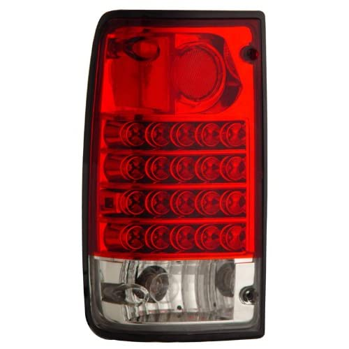 Toyota Pickup 89-95 LED Taillights Red/Clear - (Sold in Pairs)