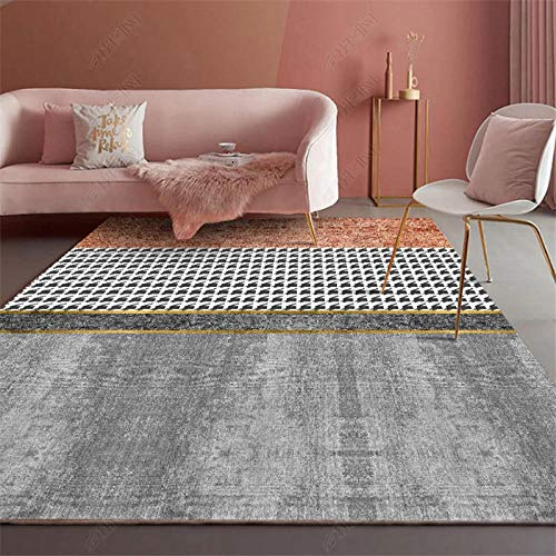 TANGYUAN traditional Living Room Rug Area carpet - Coffee table carpet stitching design modern creativity exquisite fashion rectangular anti-fouling-160x230cm