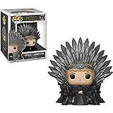 Funko Cersei Lannister: Game of Thrones x Deluxe Figura de vinilo POP! + 1 juego de cartas oficiales de juego de tronos [#073 / 37796]