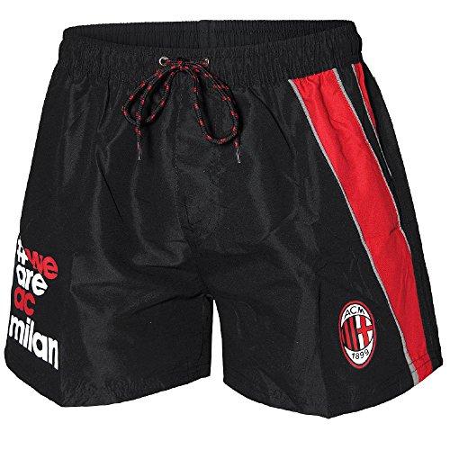Costume da Bagno Milan Uomo Pantaloncini Mare Piscina ACM Milan PS 27342-XL-nero