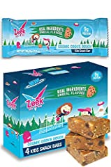 THE BETTER KIDS SNACK BAR: Packed with high-quality nutrition from real ingredients like oats, milk, honey, and almond butter, plus delicious, easy-to-eat and kid-friendly flavors. PROTEIN & FIBER BLEND: 9g protein (from milk) and 7g fiber (from tapi...