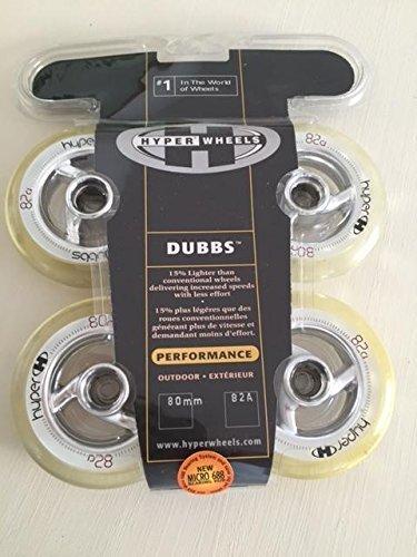 Hyper Dubbs 80mm 82a Micro 8 Stück Inliner Rollen