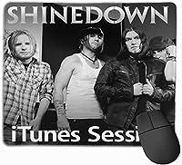マウスパッド かわいい Shinedown iTunes Sion、快適、マウスパッド、オフィス用、ゲーム10X12インチ
