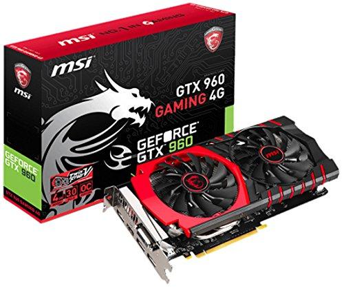 MSI V320-034R GF GTX 960 Graphics Card NVIDIA (PCI-e 4096, GDDR5, PCIe 3.0 x16 1 GPU)