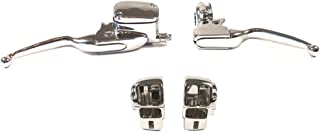 Hill Country Customs Chrome Handlebar Control kit for 1996-2007 Harley-Davidson Electra Glide & Street Glide models without Cruise - HC-HCB122-1003