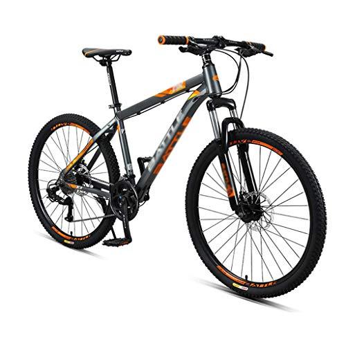 26 Inch Mountain Bikes, 27-Speed Hardtail Mountain Bike, Anti-Slip All Terrain Mountain Bicycle,with Dual Disc Brake