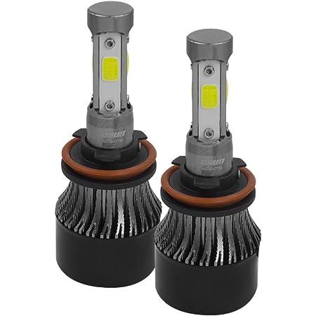 Kit de conversión LED foco H11 a LED modelo C4 para luces principales, faros delanteros, faros de niebla, luces auxiliares, plug and play, compatible con autos, motos, camionetas, OSUN