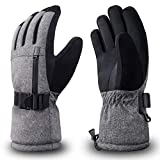 RIVMOUNT Winter Ski Gloves Men Women Waterproof 3M Thinsulate Gloves Keep Warm in Cold Weather RSG601