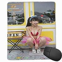 マウスパッド??茉里奈 、 長澤茉里奈、 Nagasawa Marina マウスパッドゲーミングマウスパッド大型ゲーミング滑り止めハイエンド流行のファッション防水耐久性滑り止めラバーボトム 25*30cm