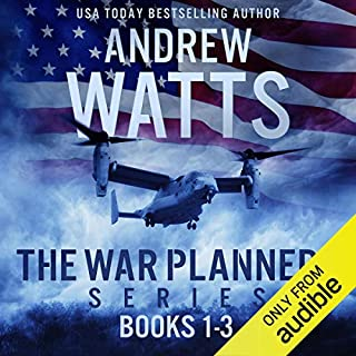 The War Planners Series, Books 1-3 audiobook cover art
