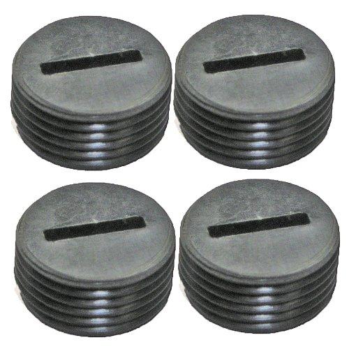 Ridgid R3030/R3101/R3100 (4 Pack) Replacement Brush Cap # 516851001-4PK