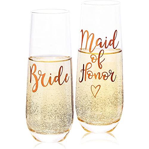 Champagnergläser von Juvale (Set, 2...