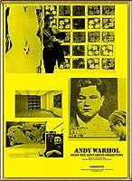 ポスター アンディ ウォーホル Warhol from the Sonnaben 額装品 アルミ製ハイグレードフレーム(ゴールド)