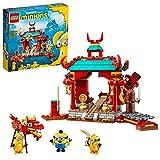 LEGO 75550 Minions El Origen de GRU, Duelo de Kung-fu de los Minions, Templo de Juguete para Construir con Mini Figuras
